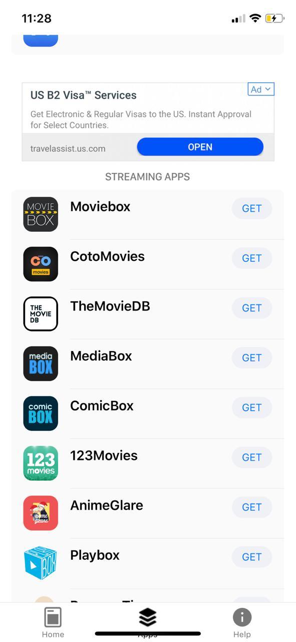 Cotomovies on iOS Emus4u