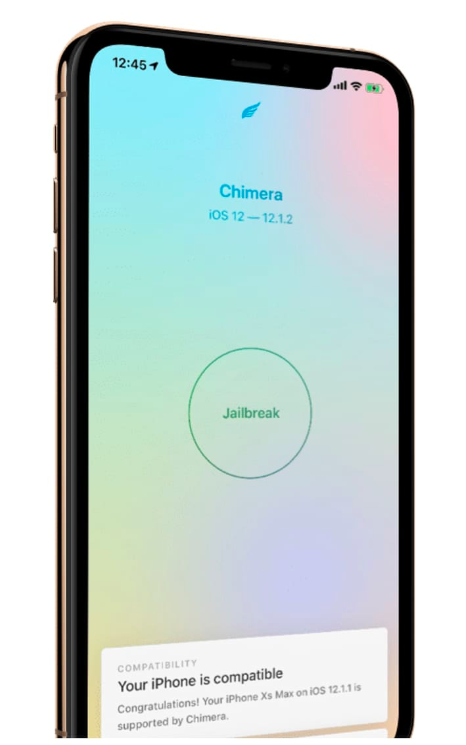 Chimera Jailbreak - iOS 12 - iOS 12.1.2 iPhone